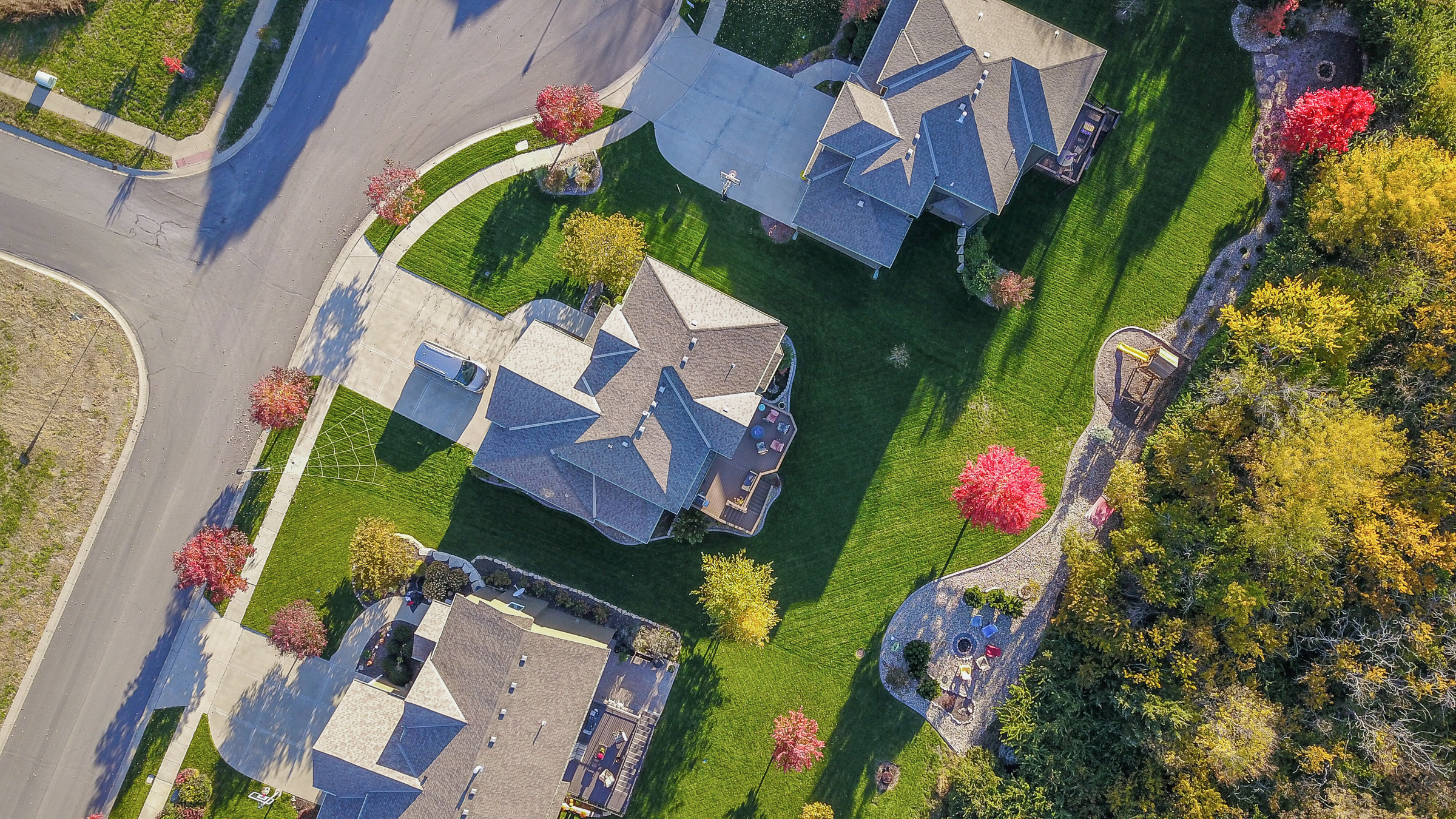 Aerial Real Estate Drone Video and photography of homes in Washington, D.C.